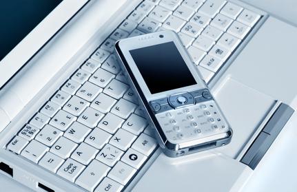 Internet auf mobilen Geräten empfangen